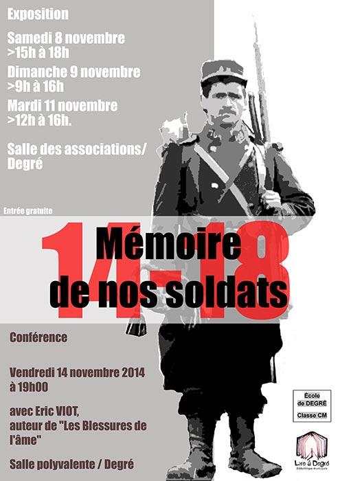 mémoire de nos soldats