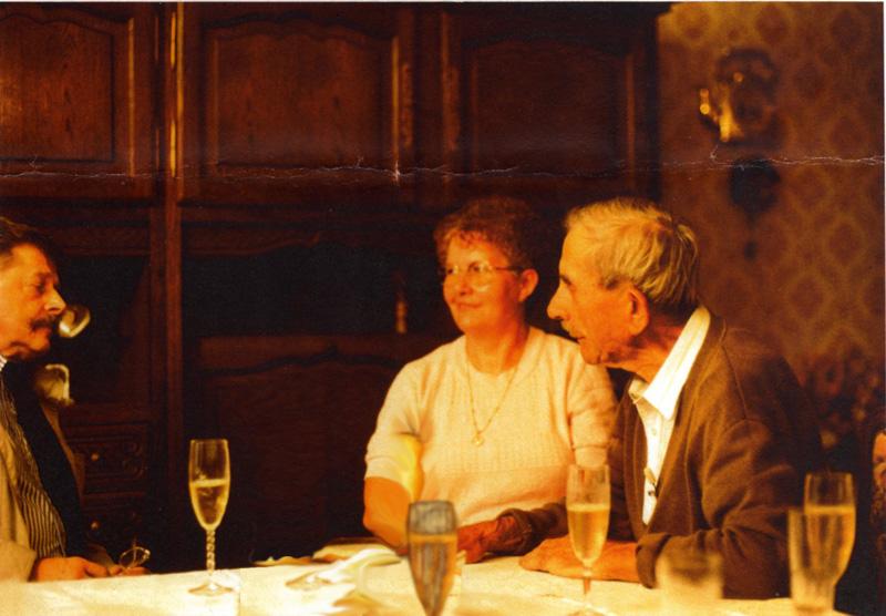 Domange Albert et sa fille