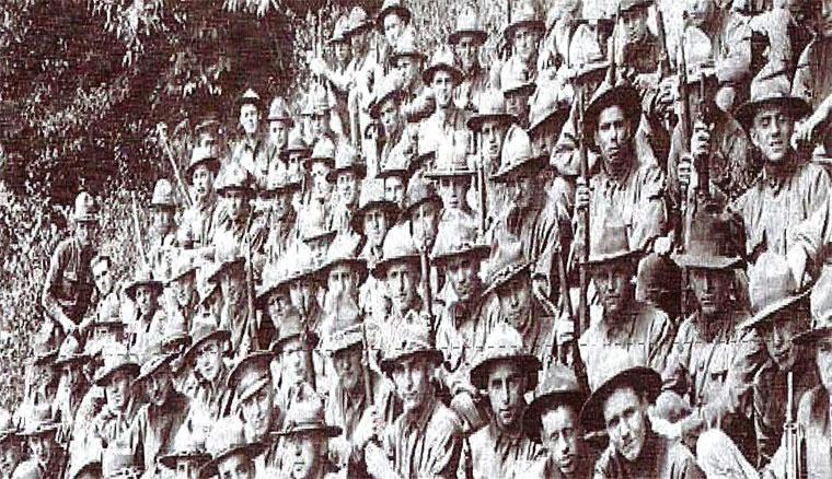 soldats américains de Meadville