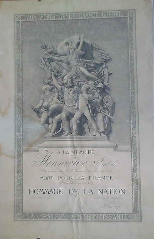 Hommage de la nation (Collection : Christine . M)