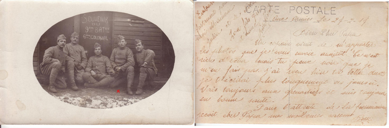 Carte postale (Document : Jean-Pierre.G)