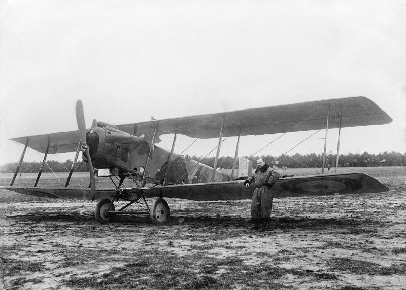 Barberon Lucien-Pilote avion Dorand-1917.(Collection Barberon.C)