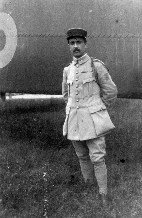 Emile FILLOUX.Aviateur de la Creuse 1914-1918.(collection  Fernande.B)