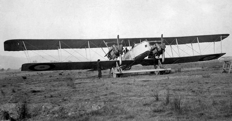 Avion Farman F50 -Gourdon Emile (Collection Fernande.B)