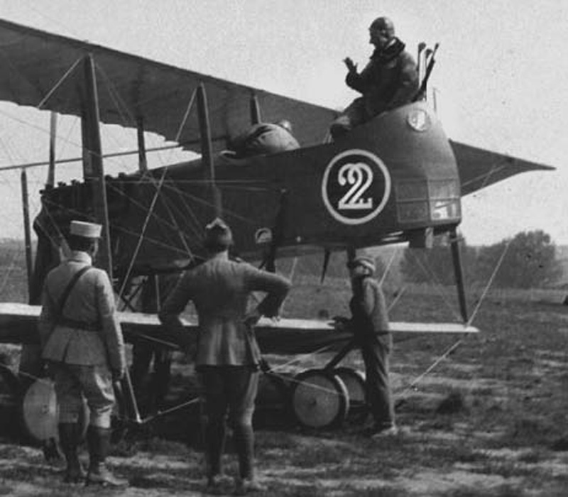 Avion Farman -Terrioux Léonard  (Collection Fernande.B)