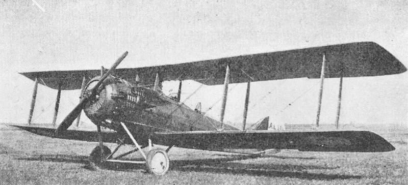 Avion Salmson 2A2 (Collection Fernande .B)