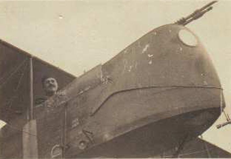 Tardivaud F sur avion Maurice Farman (Collection Fernande.B)