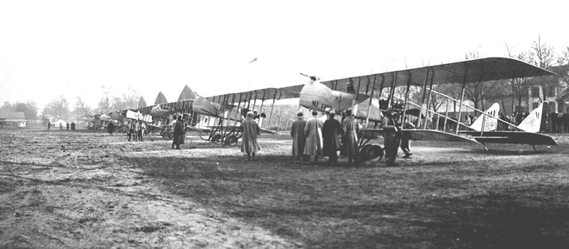 Avions Maurice Farman -escadrille F58 (Collection Fernande.B)