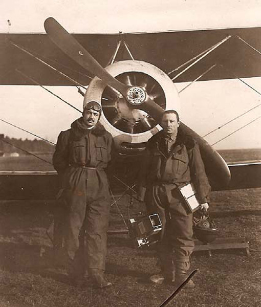CHAGNAUD Charles-Avion Sopwith-1A2.  (Collection Fernande.B)