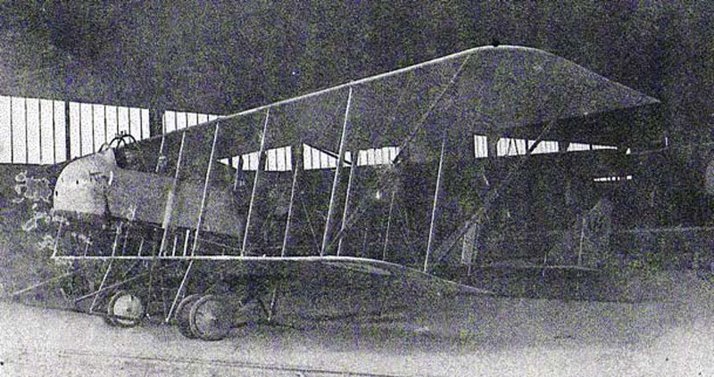 P-ALLONCLE-Maurice Farman-MF11. (Collection Fernande.B)