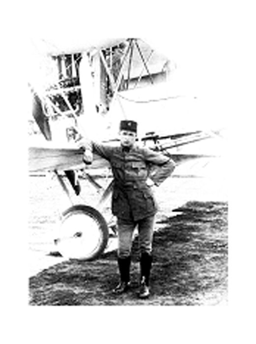 Patard-Pierre. Aviateur de la Creuse 1914-1918.(collection  Fernande.B)