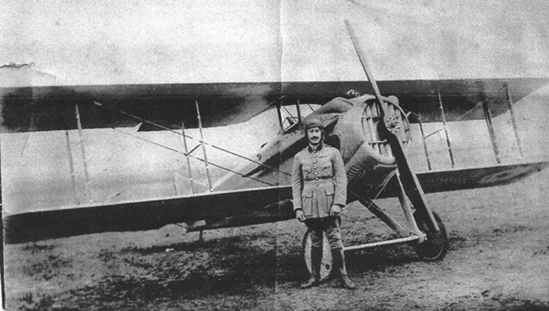PLANCOULAINE Albert-Avion SPAD. (Collection Fernande.B)