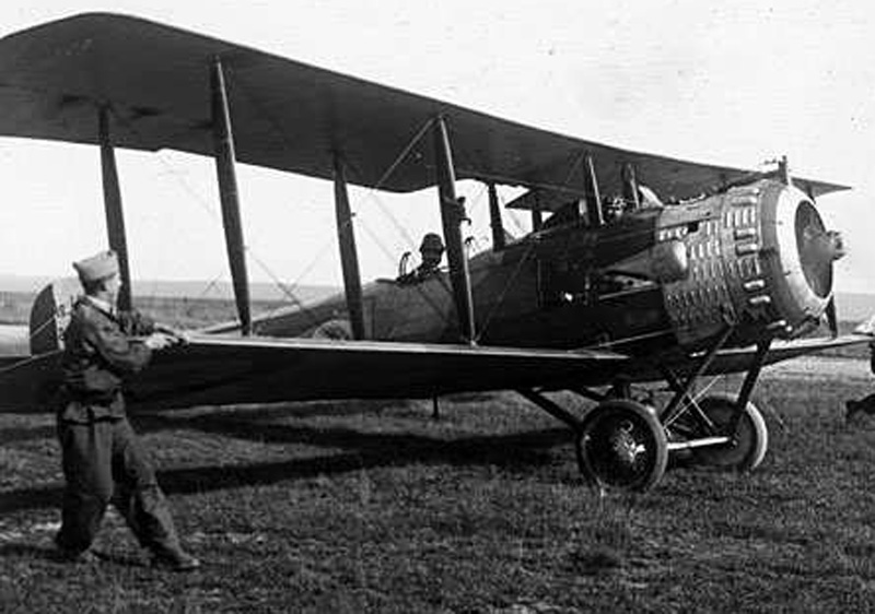 Giat Marcel- Avion Salmson 2a2 (Collection Fernande.B)