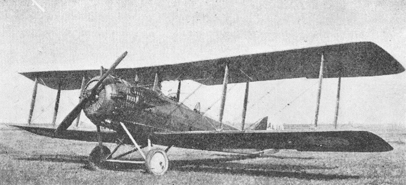 Tarrier-Lucien sur Avion Salmson.(Collection Fernande.B)