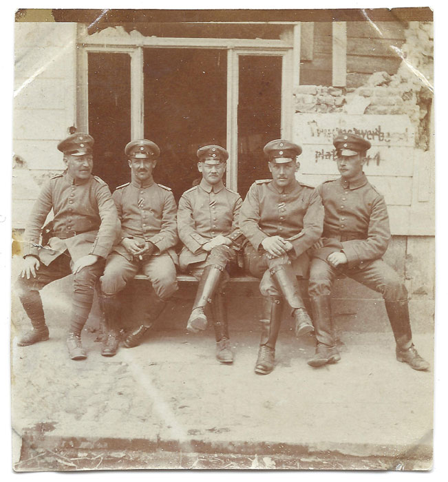 Soldats allemands en Belgique.(Collection: Stijn.B)