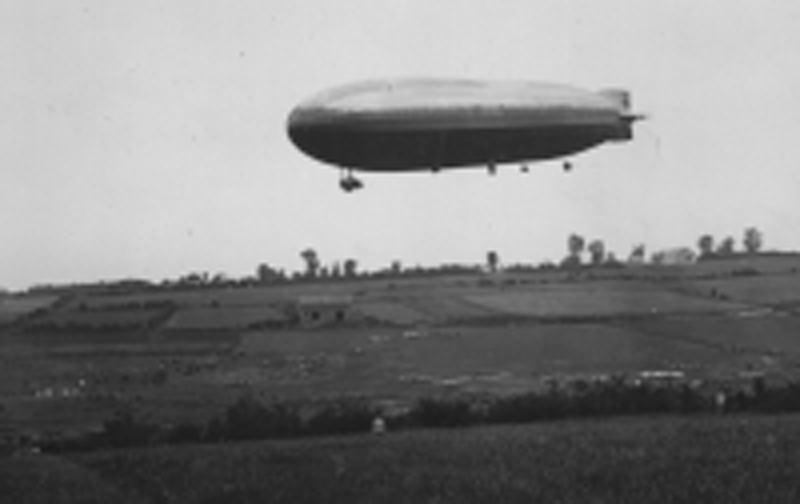 Dirigeable Zeppelin-L72-Dixmude. (Collection Fernande.B)