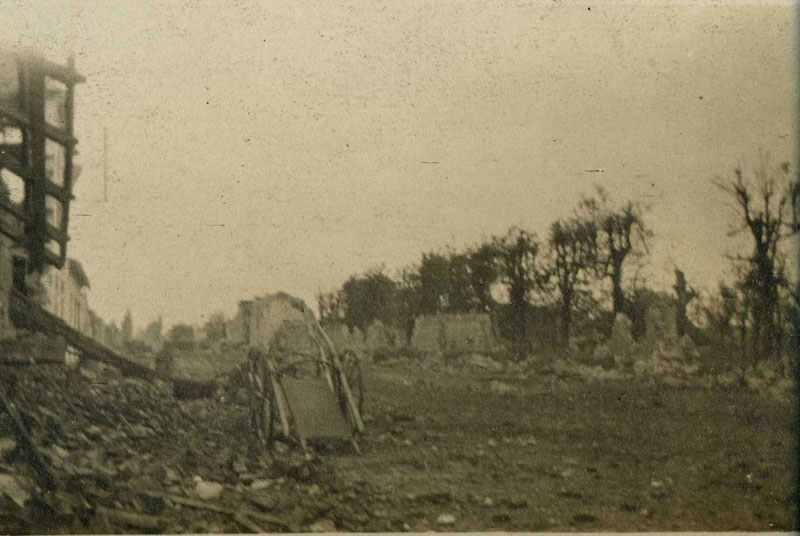 Neuville St Vaast, Pas de Calais-1915. (Collection Patrice Lamy)