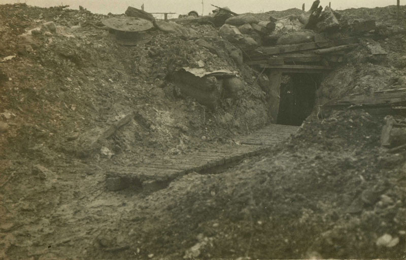 Verdun, Meuse-1916. (Collection Patrice Lamy)