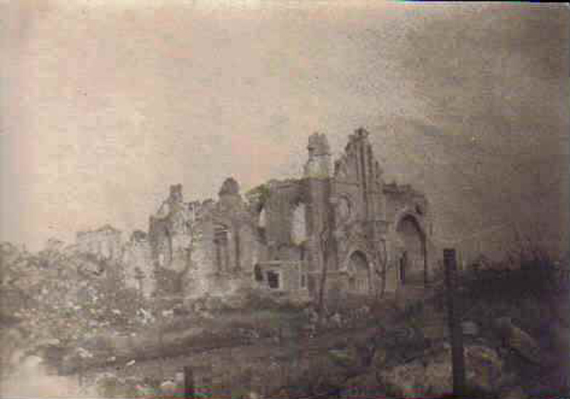 Ypres, Belgique; Guerre 14 18 (collection-Michel.T)
