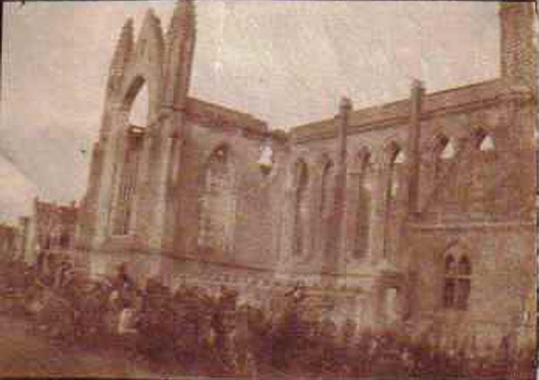 Nieuport, l'église; Belgique; (collection-Michel.T)