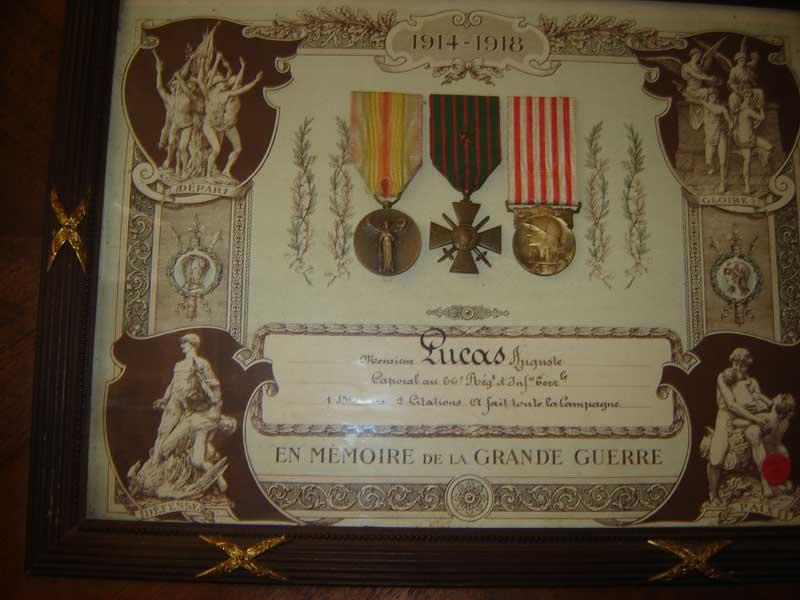 Souvent Médailles, Décorations, Drapeaux. Insignes FZ36