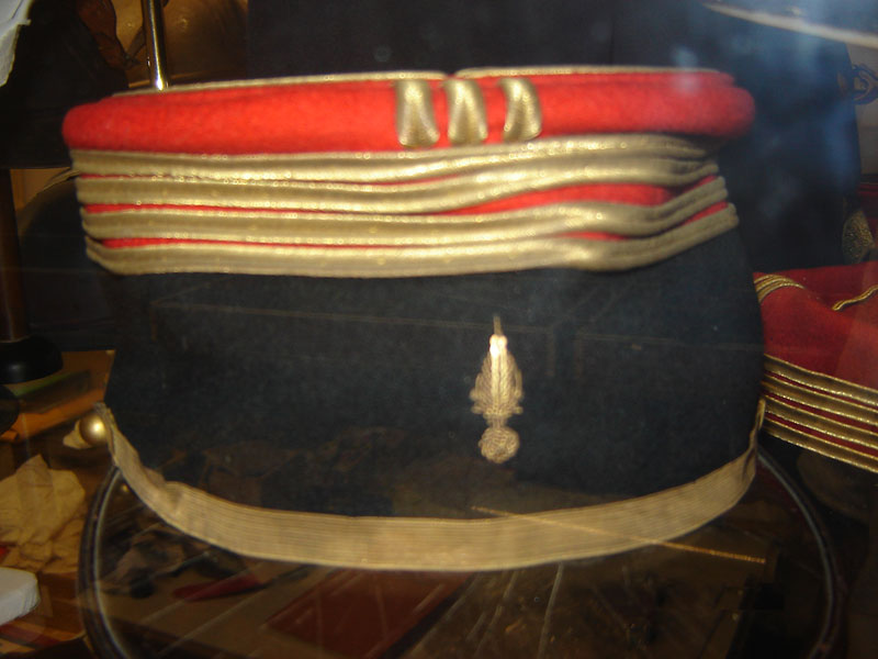 Képi de commandant d'infanterie état major.(Collection privée: A-R).