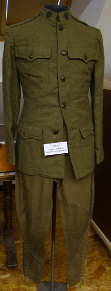 Tenue infanterie-USA-compagnie-B (Collection-A.R)
