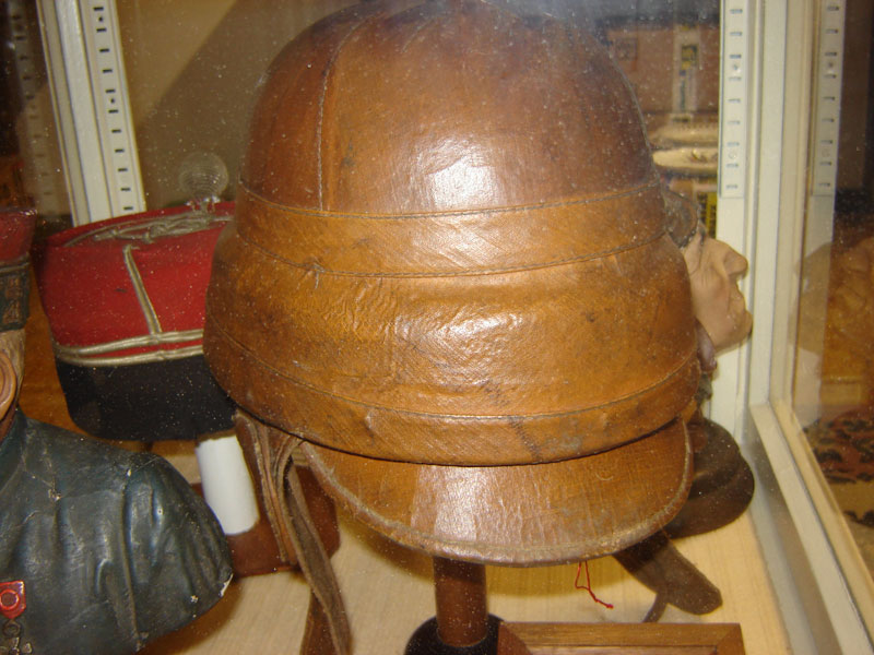 Casque de pilote francais ROLD (Collection privée: A-R).