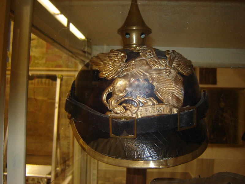 Casque infanterie de Bade, Mle 1895 (Collection privée: A-R).