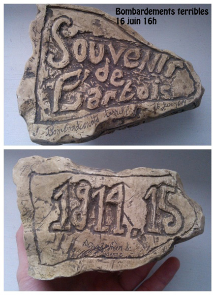 Passe temps de soldat, souvenir de l'Artois (Collection Steven-H )