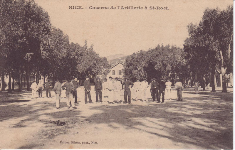 Caserne de Nice (Document : Jean-Pierre. G
